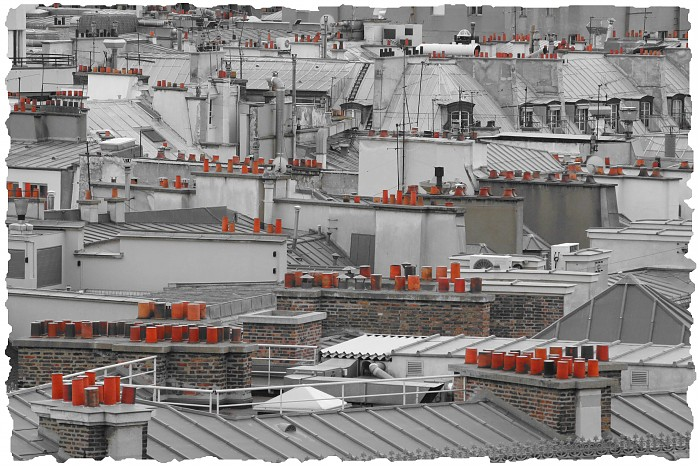 photoblog image Roof Tops, Paris